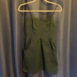 mossimo supply co green dress